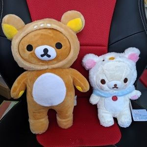 Rilakkuma (ONLY) NEW super soft plush - brown bear